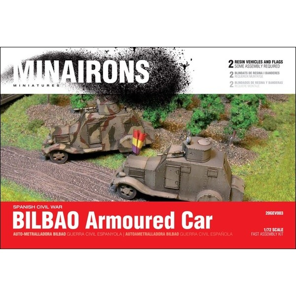 1/72 Bilbao AFV - Boxed set