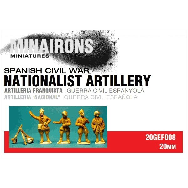 1/72 (20mm) Nationalist Artillery