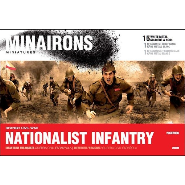1/72 (20mm) Nationalist Infantry