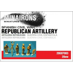 1/72 (20mm) Republican Artillery