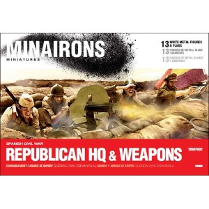 1/72 (20mm) Republican HQ & Weapons