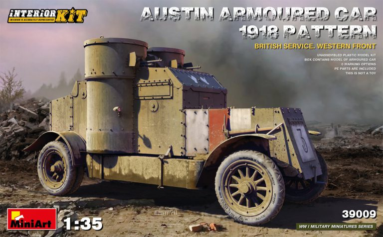 1/35 AUSTIN ARMOURED CAR 1918 PATTERN. BRITISH SERVICE. WESTERN