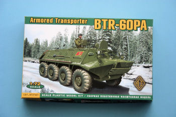 1/72 BTR-60PA Armoured Transporter