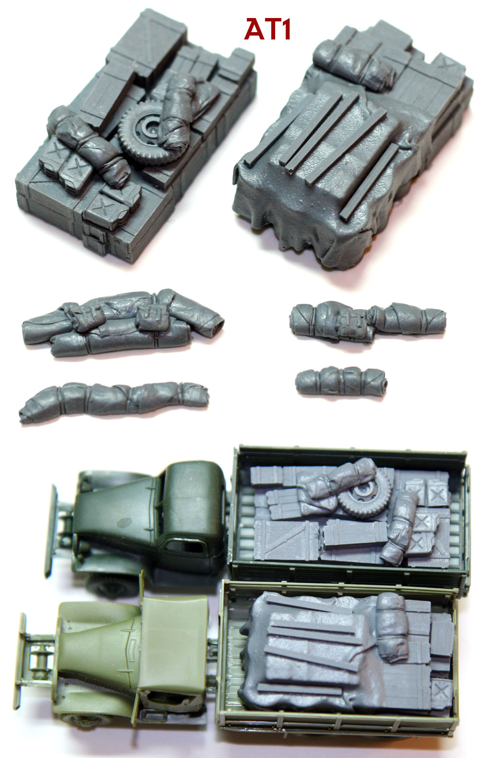 "1/72 Allied Truck Blobs""AT1"""