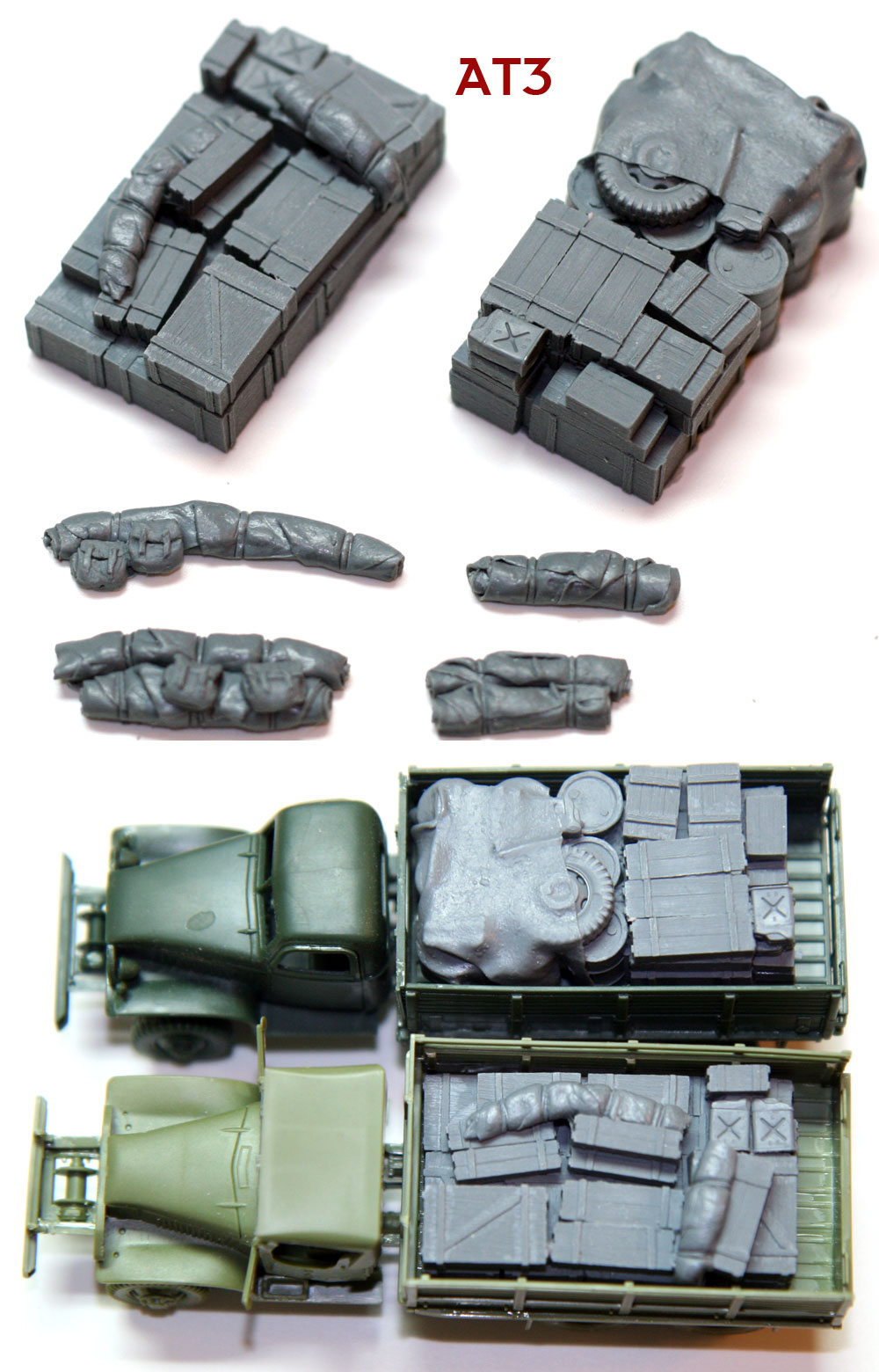 "1/72 Allied Truck Blobs""AT3"""