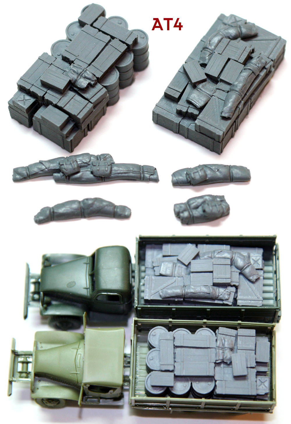 "1/72 Allied Truck Blobs""AT4\"""