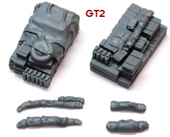 1/72 GT2 German Truck Blobs #2