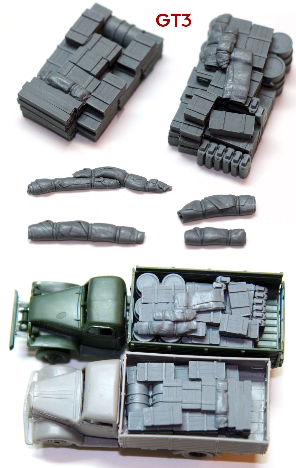 1/72 GT3 German Truck Blobs #3