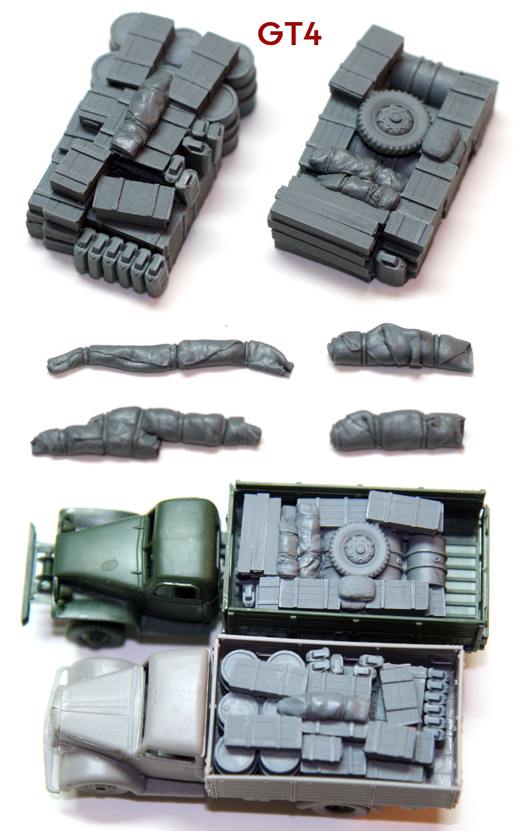 "1/72 German Truck Blobs""GT4"""