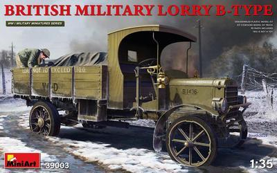 1/35 BRITISH MILITARY LORRY B-TYPE