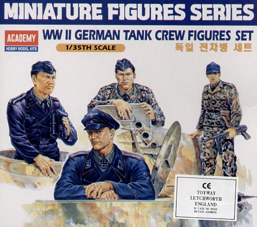 German (WWII) Tank Crew Figures