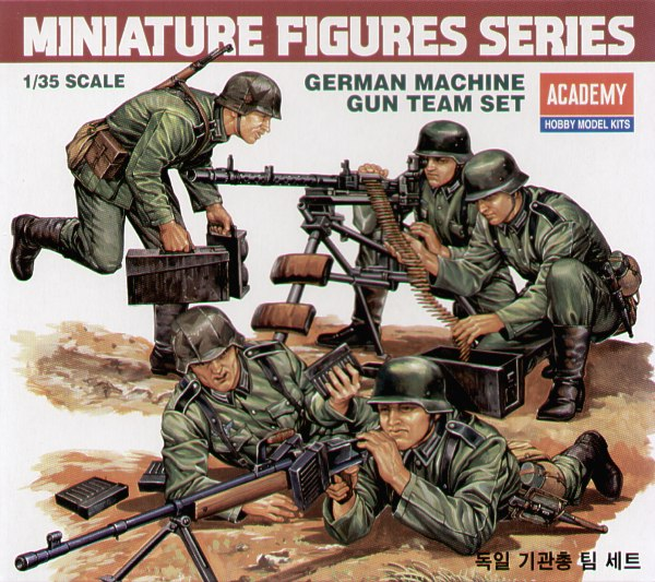 Re-issue. German (WWII) machine gun team