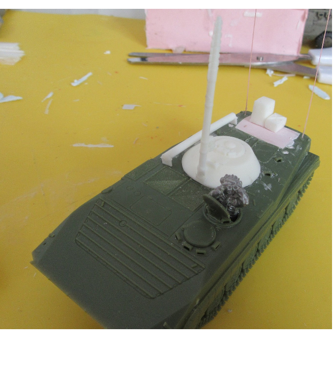 1/72 BMP 1 Command conversion (HD 80)