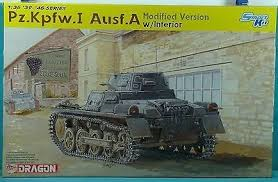 1/35 Dragon Panzer PzKpfw I Ausf A Mod Version w/Interior