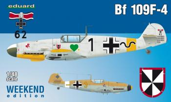 Eduard Weekend Kit 1:48 - Bf 109F-4