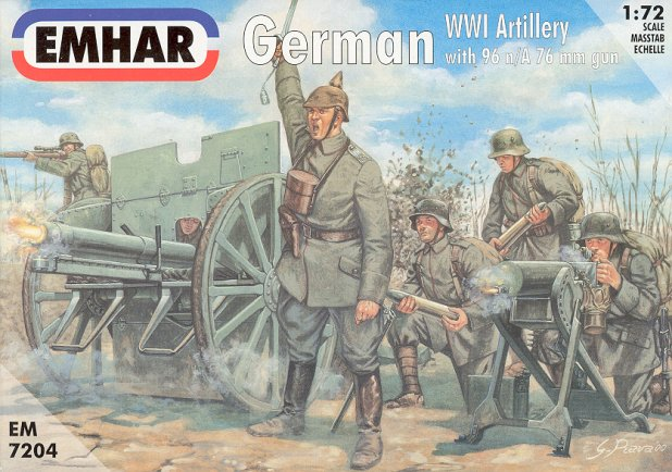 1/72 Emhar German WW1 Artillery