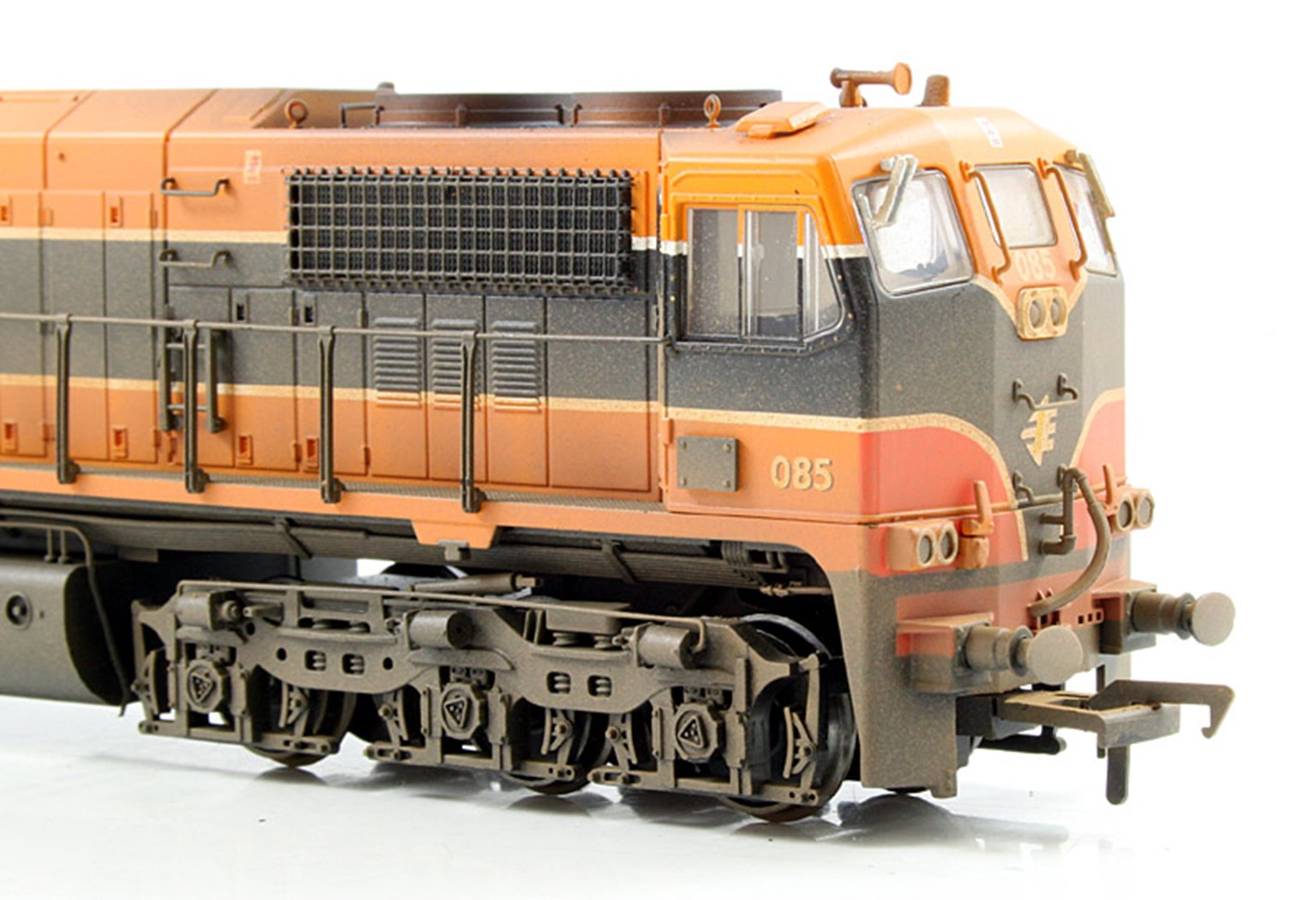 MM0085 Class 071 IE Orange Livery Diesel Locomotive #085 ...