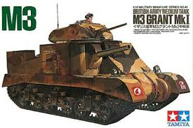 1/35 British Army Medium Tank M3 Grant Mk I
