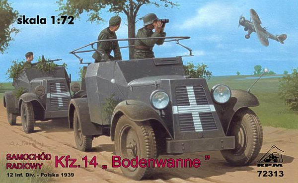 1/72 RPM Radio Car Kfz.14 'Adler'
