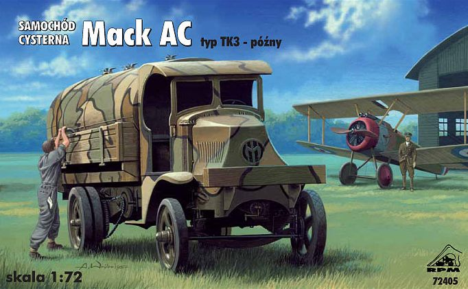 1/72 RPM Mack AC Fuel Truck type TK3 late version