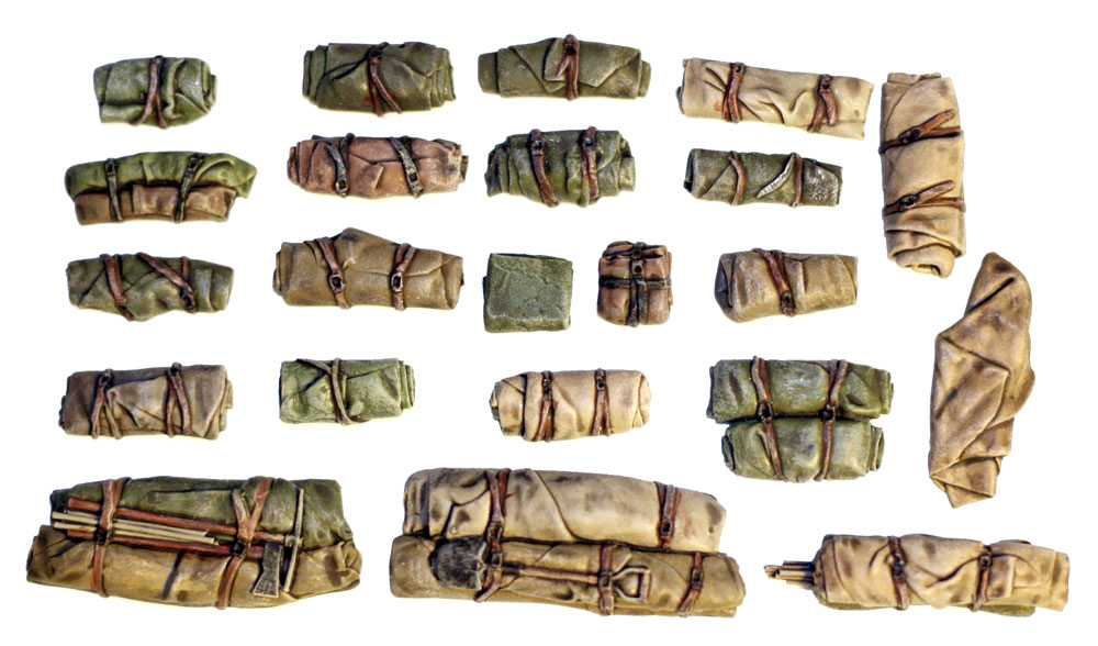 1/35 Tents & Tarps Set #10
