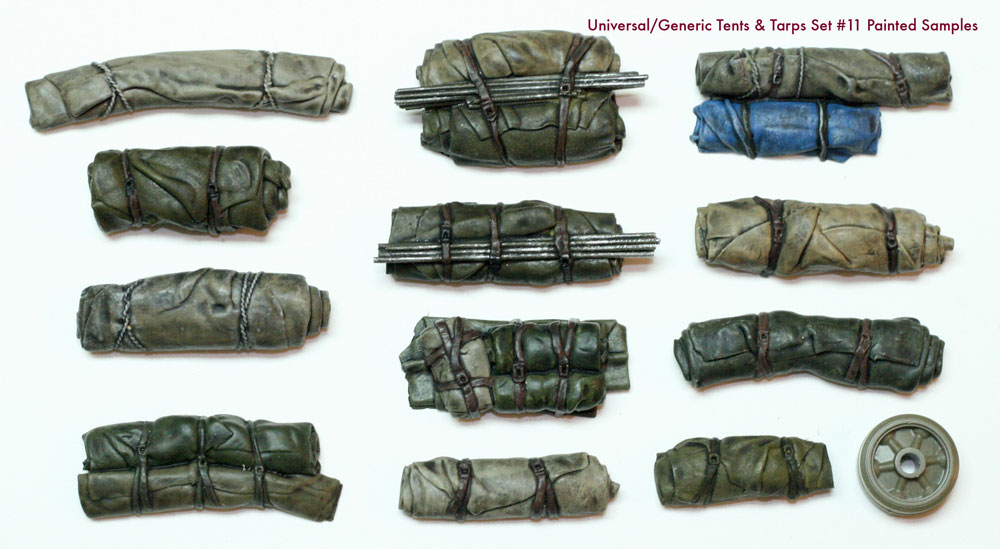 1/35 Tents & Tarps Set #11
