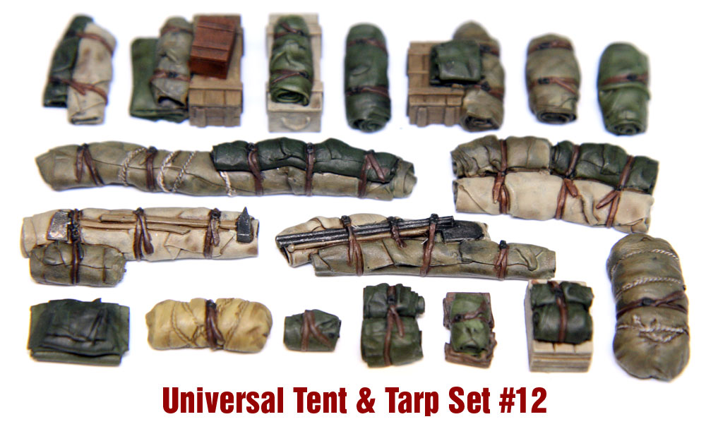 1/35  Tents & Tarps Set #12