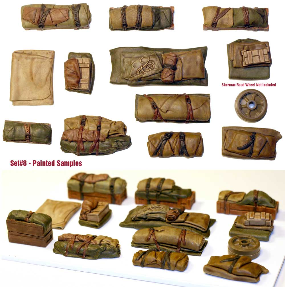 1/35 Tents & Tarps Set #8