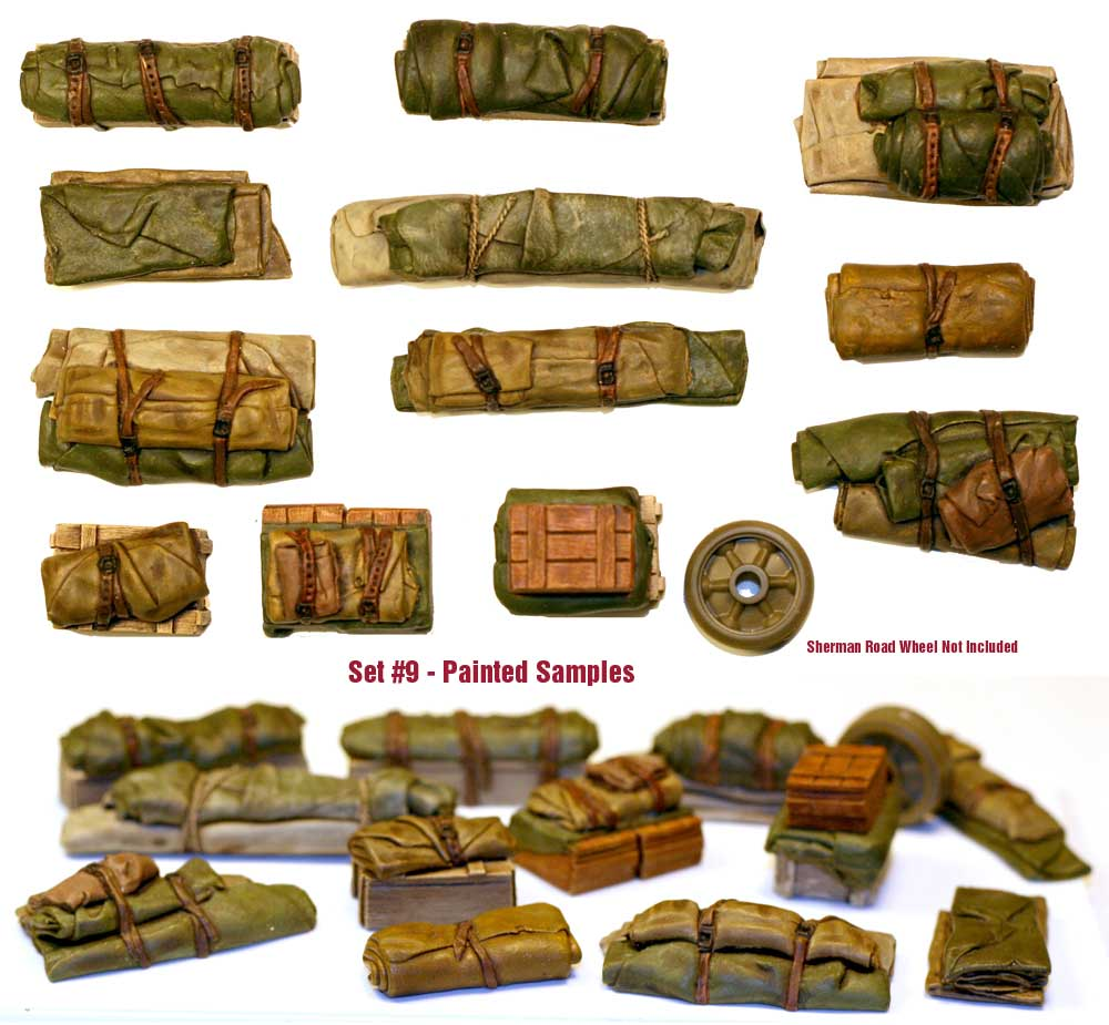 1/35 Tents & Tarps Set #9