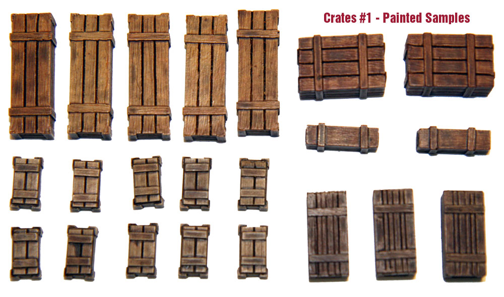 1/35 Wooden Crates Set #1