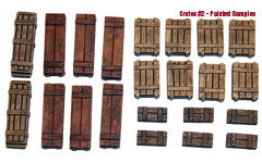 1/35  Wooden Crates Set #2