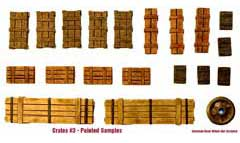 1/35  Wooden Crates Set #3