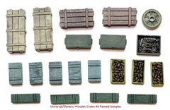 1/35 Wooden Crates Set #6