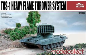 1/72 Modelcollect Soviet TOS-1 Heavy Flamethrower System