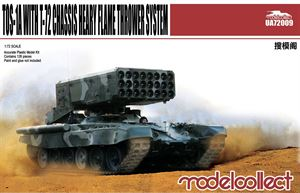 1/72 Modelcollect TOS-1A with T-72  Flame thrower UA720009