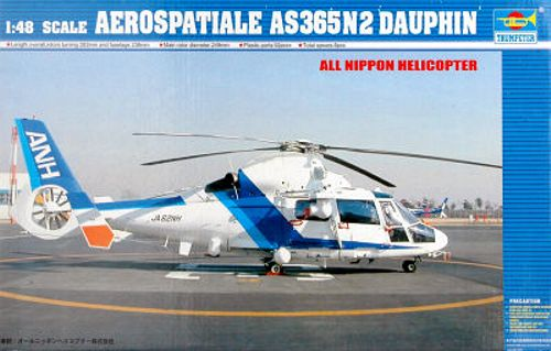 Trumpeter 1:48 - Aerospatiale AS 365N2 Dauphin