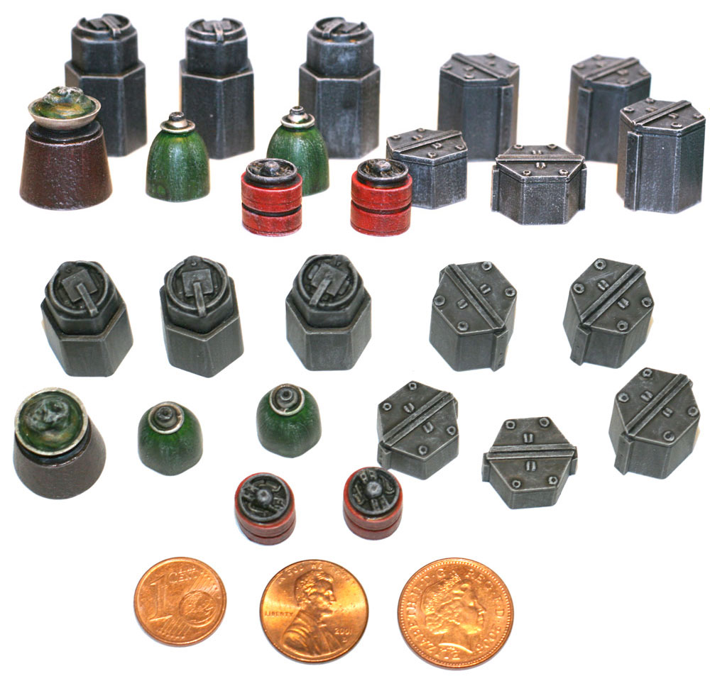 28mm Sci Fi Supplies Set #2