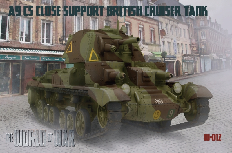 1/72 A9 Close support Tank