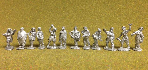 ZC-01 Zombie Characters