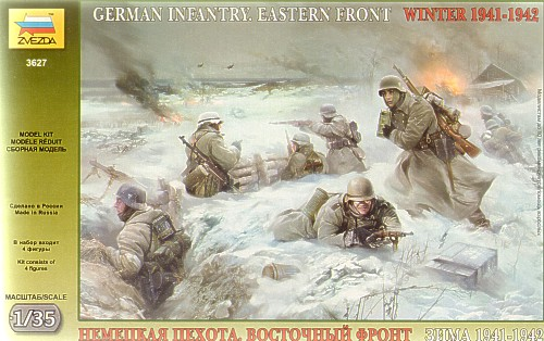 German (WWII) Infantry Winter 1941/42