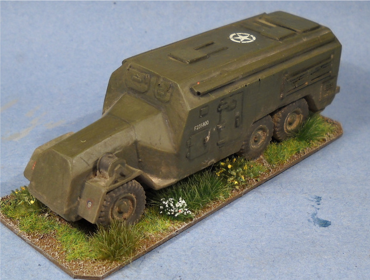 1/72 A.E.C. Armoured Command Vehicle (HD35)