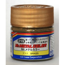 MC 219 Mr Hobby Metal Colour: Brass