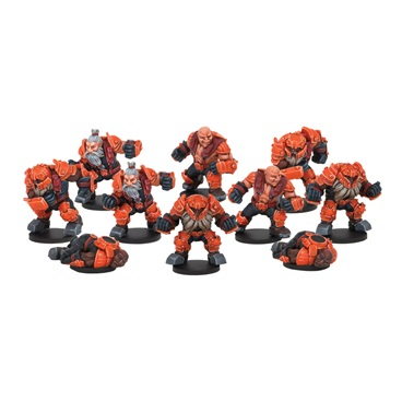 Rotatek Rockslides Brokkr Team (10 Figures)