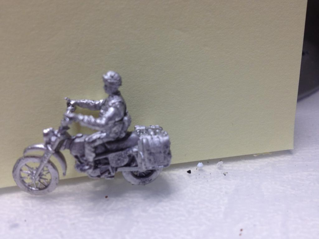 1/76 Can-Am British Army Motorbike and Rider