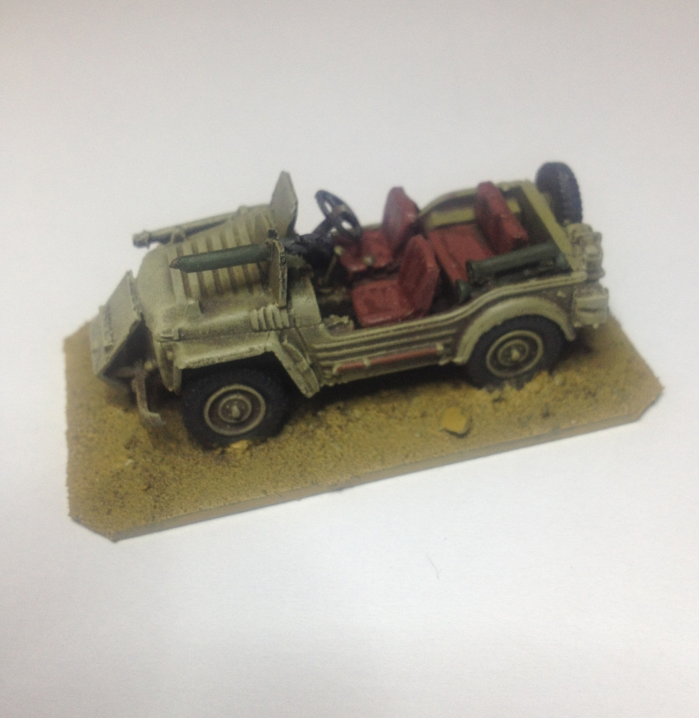 1/76 Austin Champ SAS battlewagon