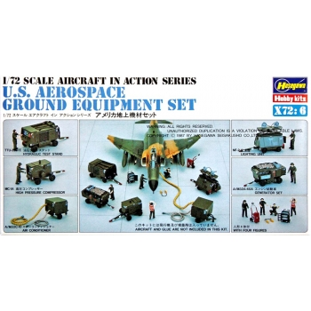 1:72 U.S Aerospace Ground Equipment Set