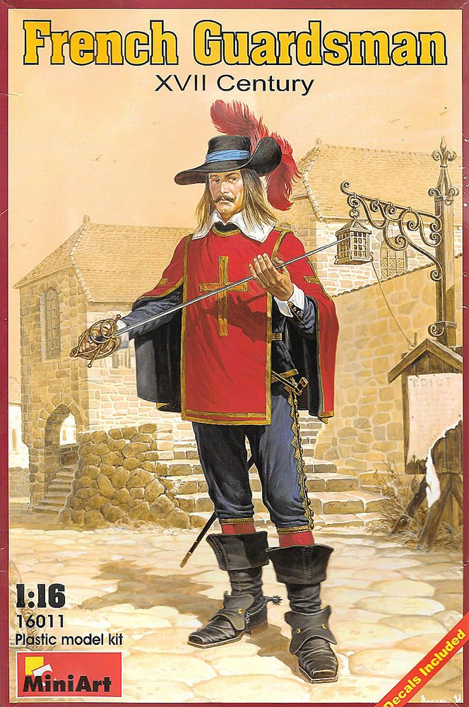 1/16 French Guardsman