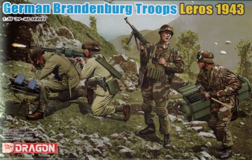 1/35 German Infantry (WWII) Brandenburg Troops, Leros 1943