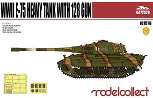 1/72  E-75 Heavy Tank with 128 gun UA72029