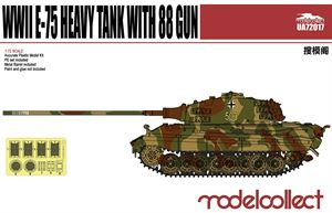1/72 E-75 Heavy Tank with 88 gun